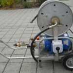 Magasnyomású csatorna mosó gép