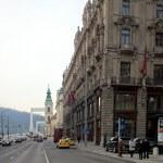 Az V. kerület egy régi épülete